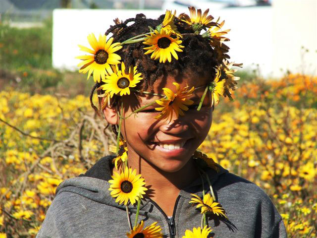Girl-in-the-daisies---Langebaan