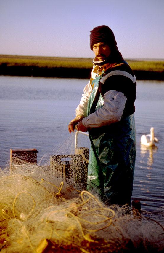 Velddrif-fisherman