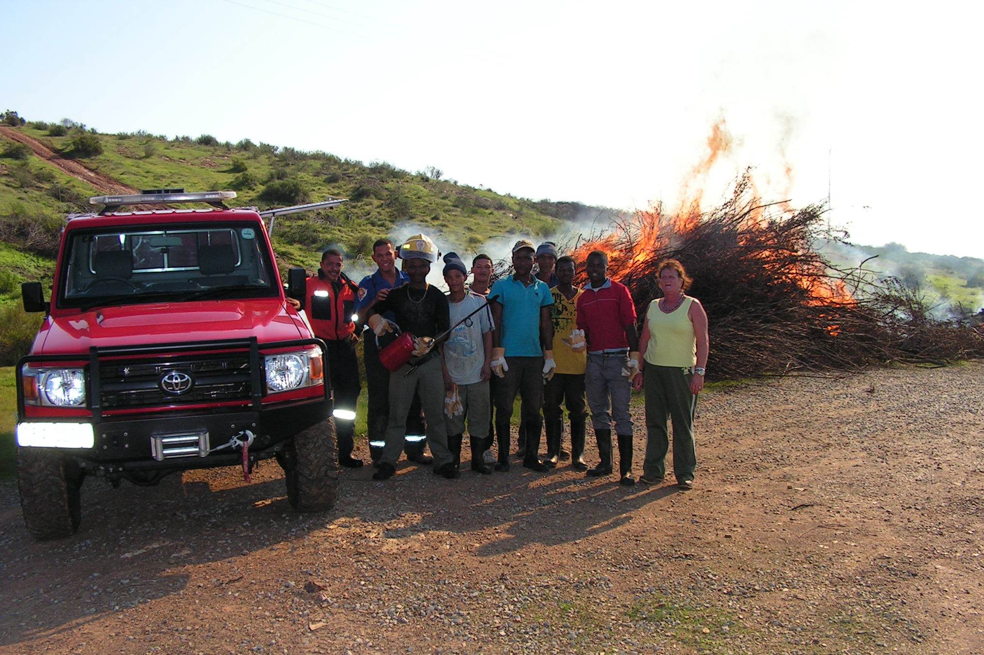 Cleaning of alien plants in the Bergrivier municipal area